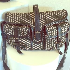 Mia Bossi Diaper Bag with a large changjng pad